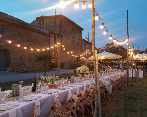 Domaine viticole mariage champêtre